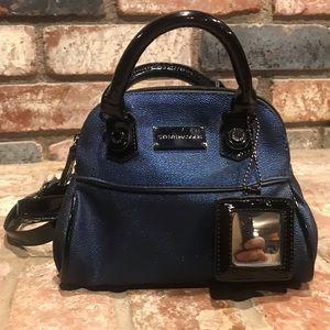 Deep blue STEVE MADDEN satchel.